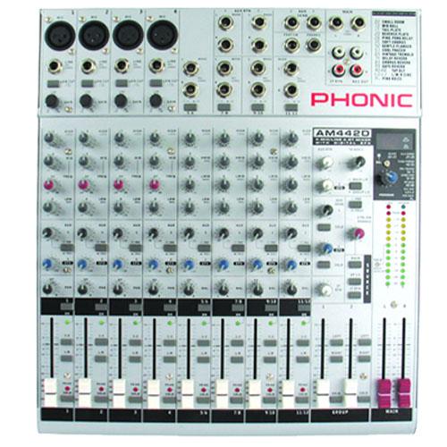 Смесителен пулт Phonic AM 442D  От Аудиосфера ЕООД