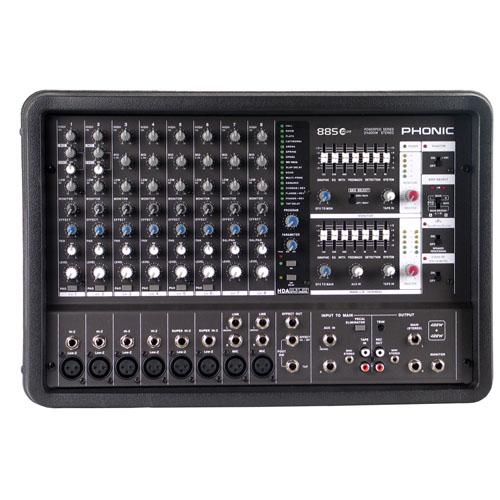 Смесителен пулт Phonic POWERPOD 885 PLUS  От Аудиосфера ЕООД