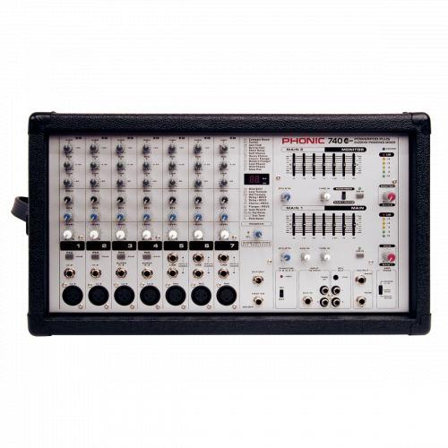Смесителен пулт Phonic POWERPOD 740Plus От Аудиосфера ЕООД