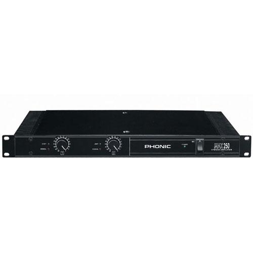 Усилвател Phonic MAX 250  От Аудиосфера ЕООД