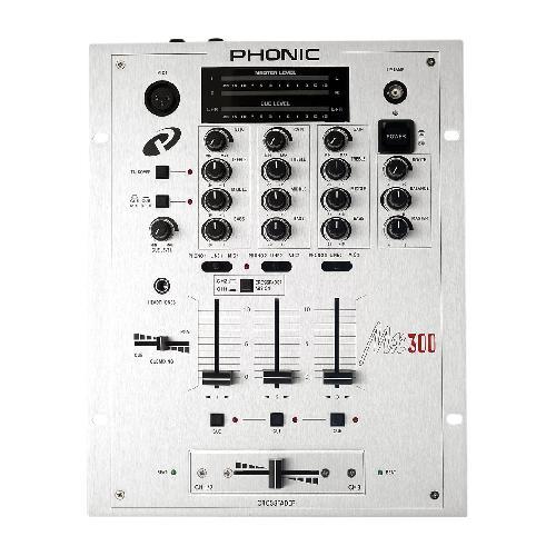 DJ смесителен пулт Phonic MX 300  От Аудиосфера ЕООД