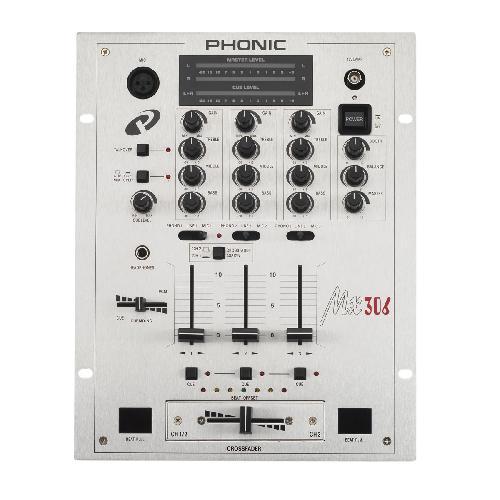 DJ смесителен пулт Phonic MX 306 От Аудиосфера ЕООД