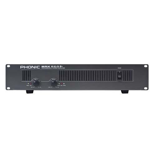 Усилвател Phonic MAX 860 Plus От Аудиосфера ЕООД