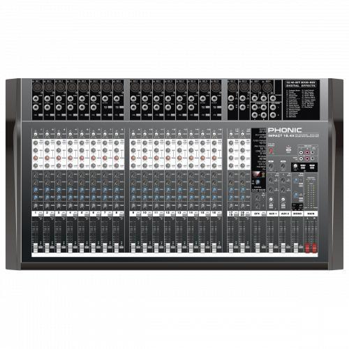 Смесителен пулт  Phonic IMPACT 16.4X От Аудиосфера ЕООД