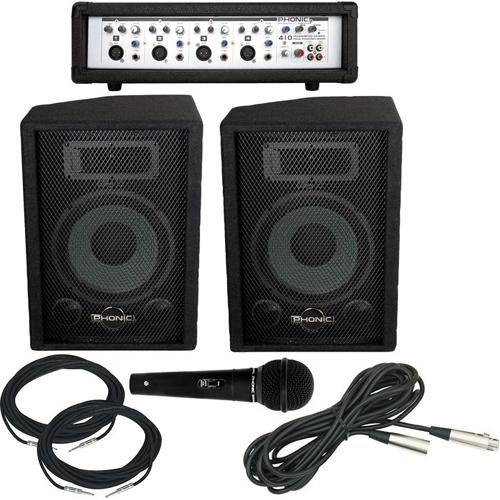 Озвучителен комплект Phonic PowerPack 410 От Аудиосфера ЕООД