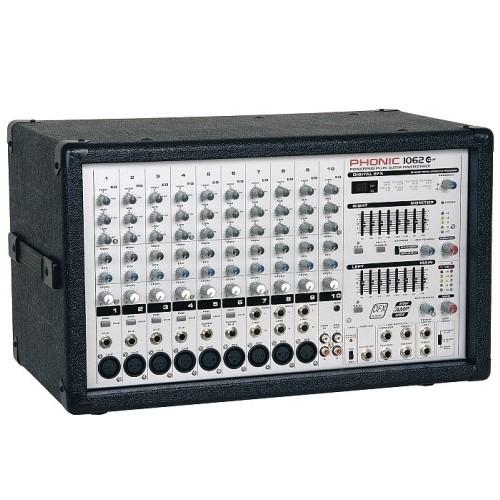 Смеситеен пулт Phonic PowerPod 1062Plus От Аудиосфера ЕООД