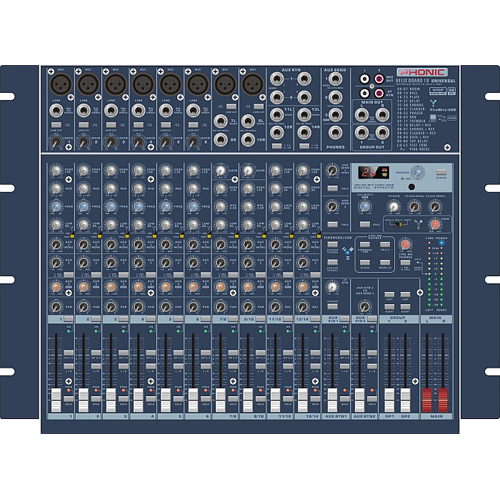 Смесителен пулт Phonic Helix Board 18 Universal От Аудиосфера ЕООД