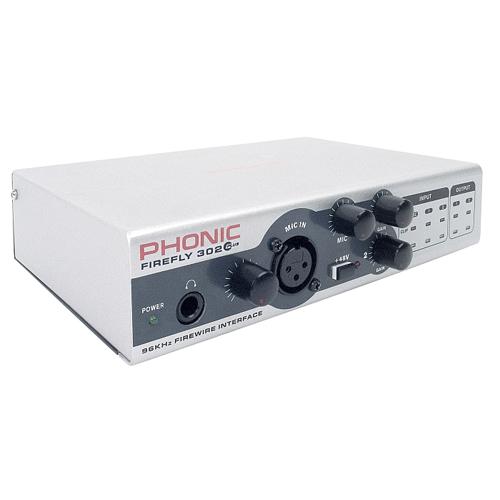 Phonic FireFly 302 От Аудиосфера ЕООД