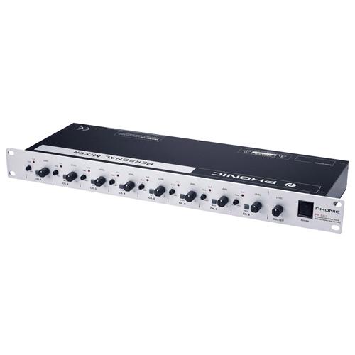 Смесителен пулт Phonic PM801 От Аудиосфера ЕООД