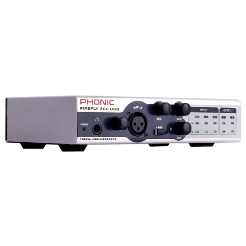 Phonic Firefly 302 USB От Аудиосфера ЕООД