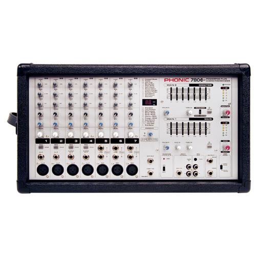 Смесителен пулт Phonic PowerPod 780Plus От Аудиосфера ЕООД