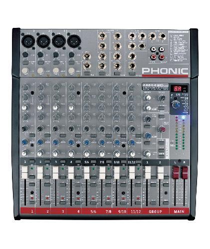 Смесителен пулт Phonic AM 442D USB От Аудиосфера ЕООД